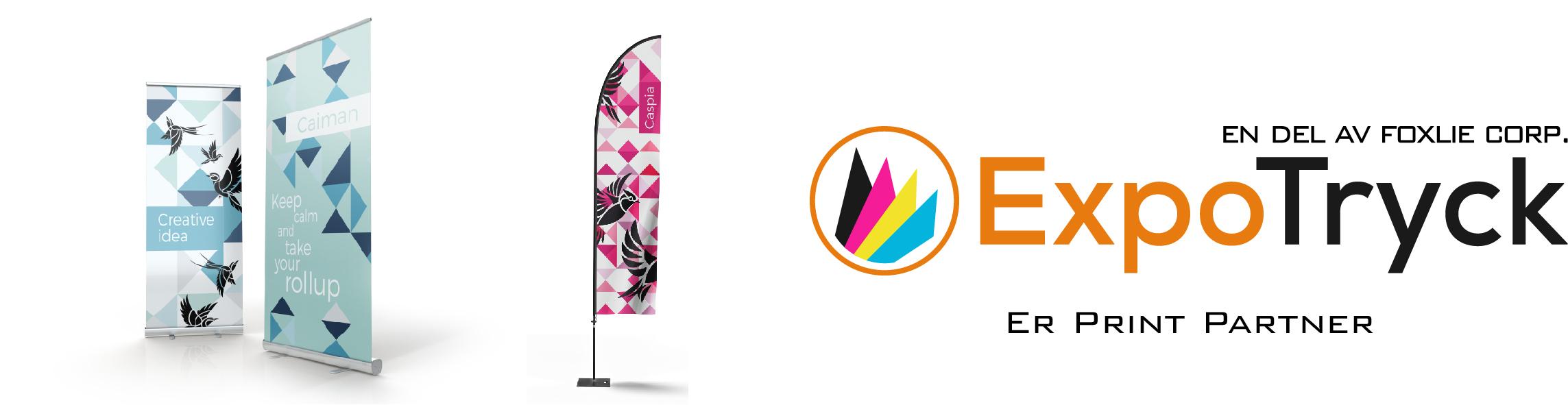 ExpoTryck.se, print, tryck, expo, produkter, eget motiv, logotyp
